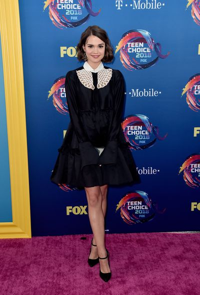 Australian actress Maia Mitchell at FOX's Teen Choice Awards in California, August, 2018