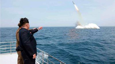 The news comes days after Kim Jong-un personally oversaw a sea-to-air ballistic missile test, according to reports from the rogue state's media service, KCNA.