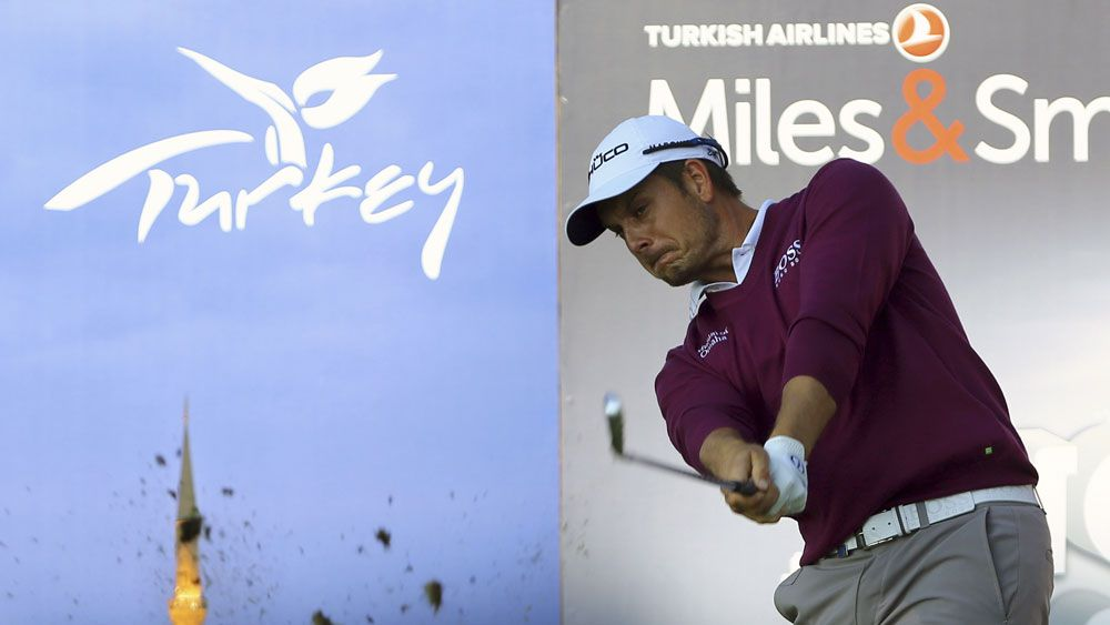 The Turkish Open is in doubt after a rocket attack. (AAP)