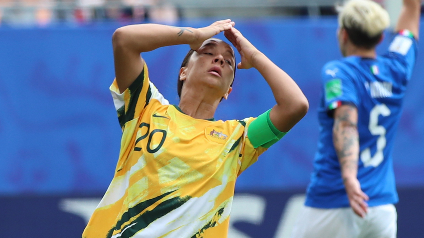 Matildas suffer heartbreaking loss to Italy in World Cup opener