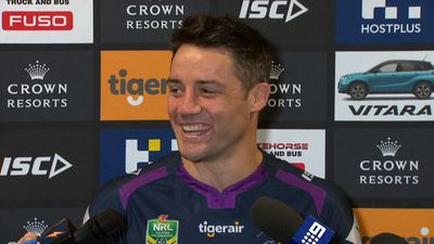 NRL grand final 2017: Melbourne Storm star Cooper Cronk says Cowboys' Michael Morgan is the better halfback