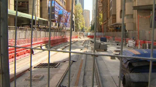The project could be 18 months late when it's finally completed. (9NEWS)