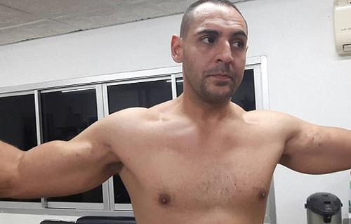 US man Jose Manuel Polanco Junior is accused of attacking the Australian man. (9NEWS)
