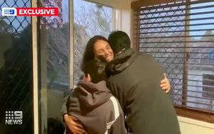 Byron Bay mum Sara Connor reunited with her sons after being freed from Bali's Kerobokan prison