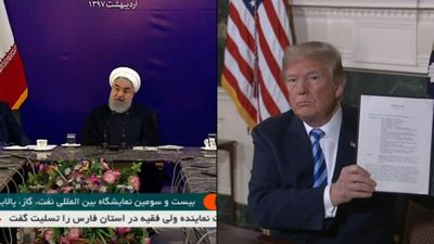 Trump wants Aust support to pressure Iran