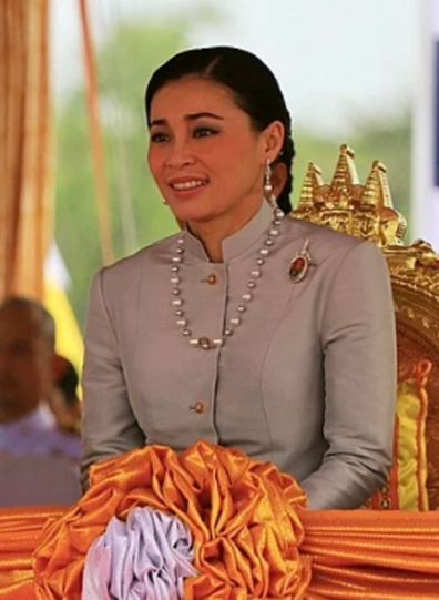 Suthida Tidjai is the king's latest wife, having wed earlier this year.