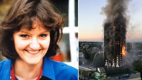 Victoria King was among 71 people killed in the London fire. (UK police/AAP)