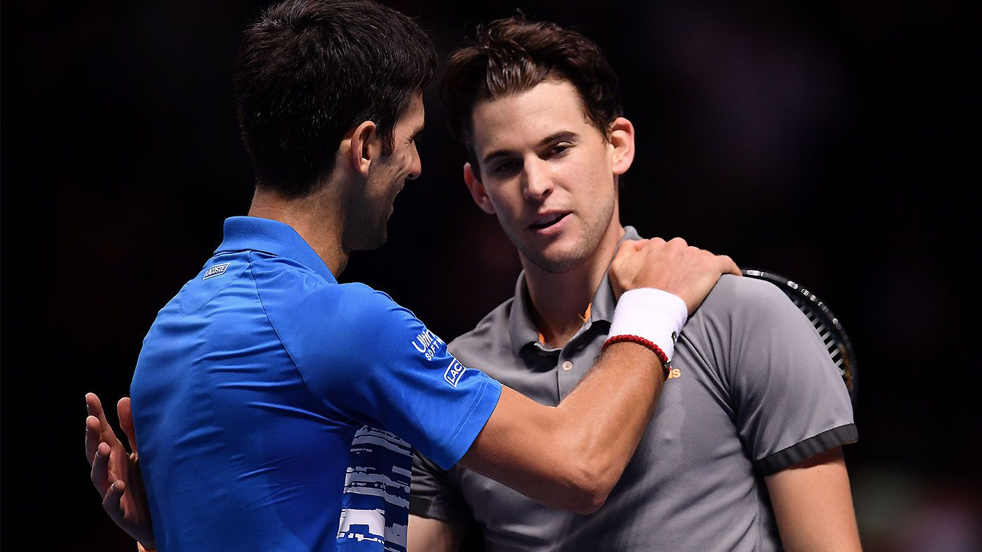 Dominic Thiem Novak Djokovic