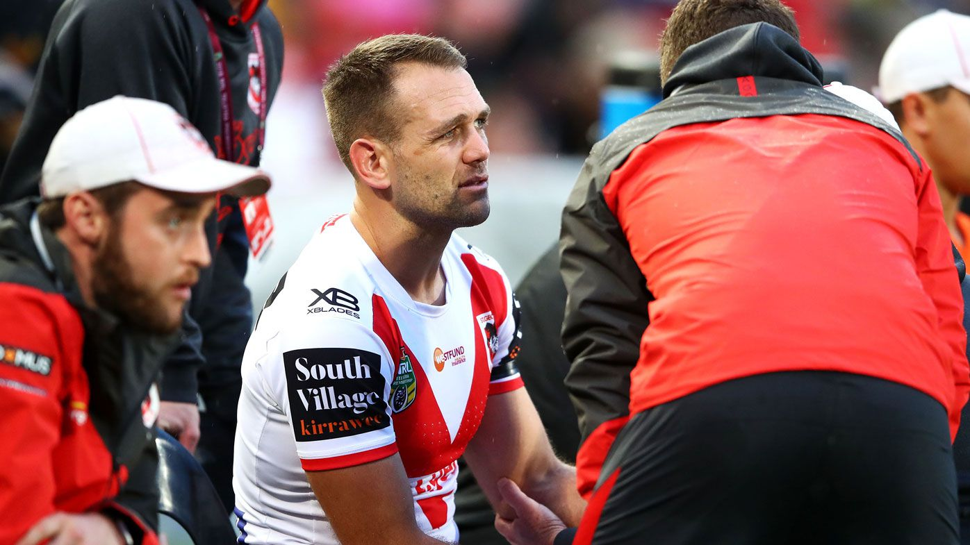 St George Illawarra winger Jason Nightingale's NRL career likely over after elbow injury