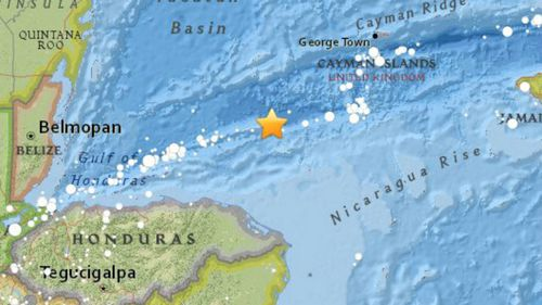 Tsunami warning issued after 7.6 magnitude earthquake strikes near Honduras