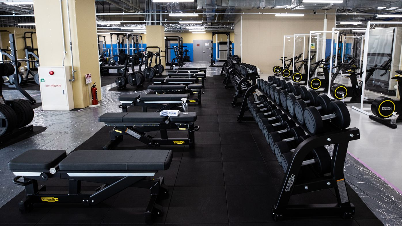 A general view of fitness centre