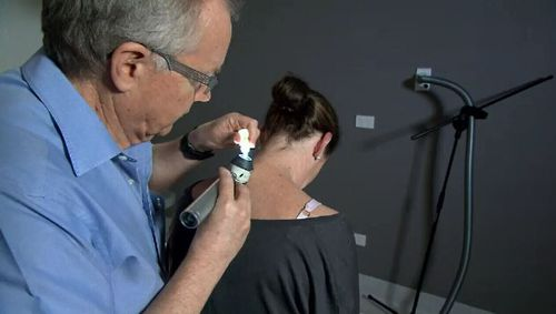 Currently, melanoma detection relies on a visual skin examination followed by a biopsy. Picture: 9NEWS.