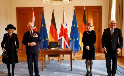 Prince Charles and Camilla in Berlin