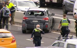 High-speed police chase ends on Melbourne's Western Ring Road