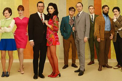 All good things must come to an end… and '60s New York time warp <i>Mad Men</i> is ready to bow out. With just seven episodes left, Don Draper (Jon Hamm) and the co at Sterling Cooper & Partners have some loose ends to tie up before entering the new world that is the '70s.<br/><br/>The season finale saw Bert Cooper (Robert Morse) say his final goodbye after seeing the moon landing in 1969. <i>Mad Men</i> returns on April 13, 2015 on Foxtel's showcase channel, just hours after the US.<br/><br/>Image: AMC.