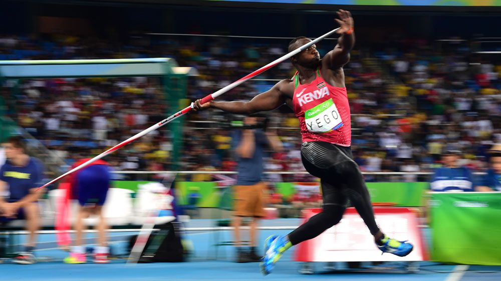 Kenyan javelin thrower who taught himself by watching Youtube gets silver