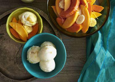 "<a href=""http://kitchen.nine.com.au/2016/05/17/14/24/mango-yoghurt-sorbet-with-tropical-fruit"" target=""_top"">Mango yogurt sorbet with tropical fruit</a><br /> <br /> <a href=""http://kitchen.nine.com.au/2016/06/06/22/35/mango-recipes-to-go-mad-over"" target=""_top"">More mango recipes</a>"