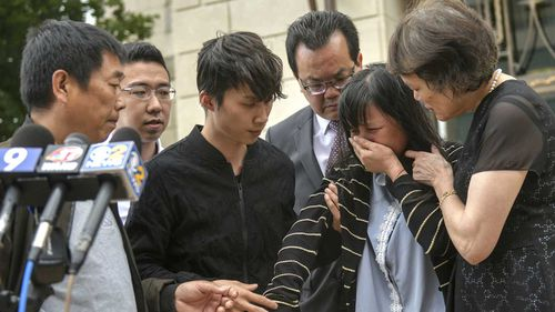 The family of Yingying Zhang have begged her killer to reveal what he did to her body.