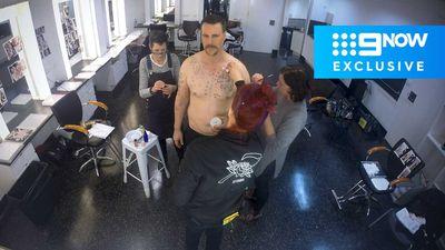 'Underbelly Files: Chopper' star Aaron Jeffery reveals dramatic weight gain