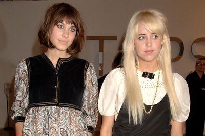 Two years later, she was very much on the London party scene, with her socialite set of Alexa Chung and Lily Allen. <br/><br/>(Image source: Getty)