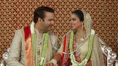 Newlyweds Anand Piramal and Isha Ambani