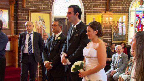 Oliver served as best man at Kosta's wedding.