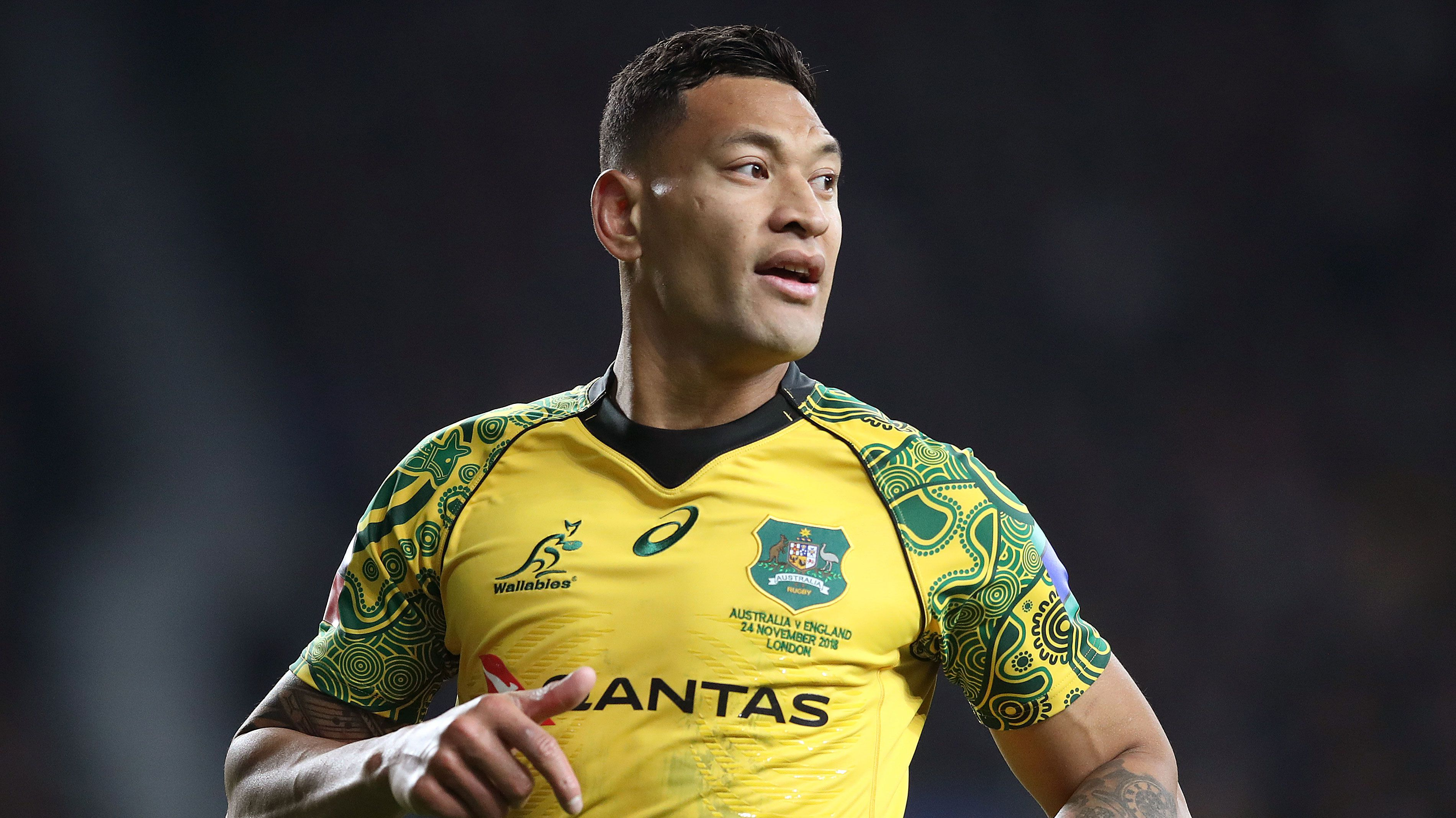 Folau sues for 'substantial' payout from Rugby Australia