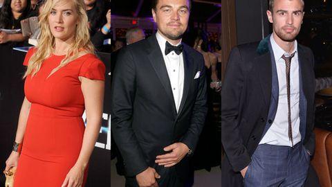 Kate Winslet, Theo James, Leonardo DiCaprio