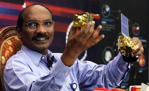 Sivan K, Chairman of Indian Space Research Organisation (ISRO)  announced India's Moonshoot Chandrayaan-2 orbiter vehicle successfully maneuvered into lunar orbit after nearly 30 days of space travel.
