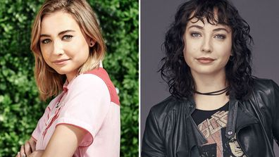 Mavournee Hazel as Piper in neighbours and Zoe in Halifax: Retribution