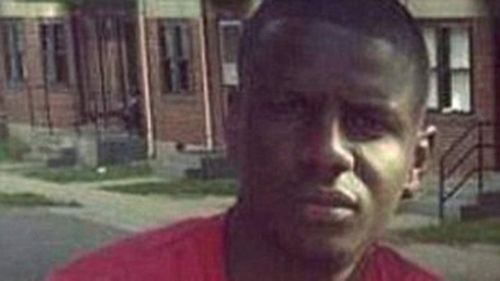 Freddie Gray suffered a severe spinal injury in a police van.
