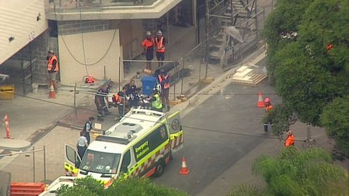 Four NSW Ambulance crews attended, as well as a Toll chopper.