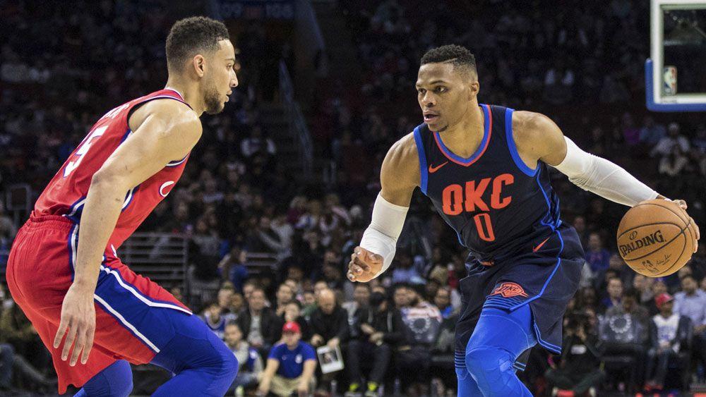 Oklahoma City Thunder beat Ben Simmons' Philadelphia 76ers after NBA triple overtime