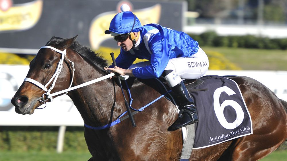 Winx may be a scratching from a wet Randwick track. (AAP)