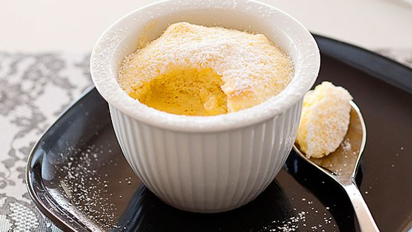 Weight Watchers' orange delicious pudding