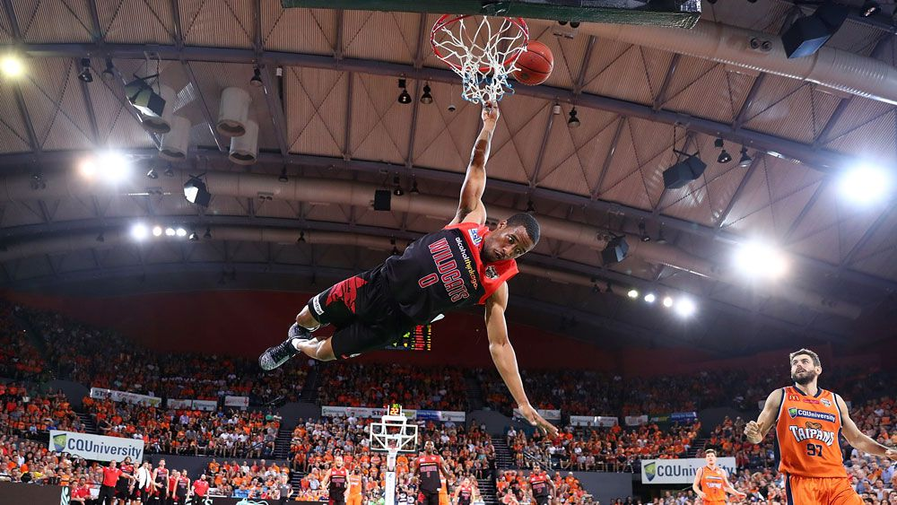 Perth import Bryce Cotton starred for the Wildcats. (Getty Images)