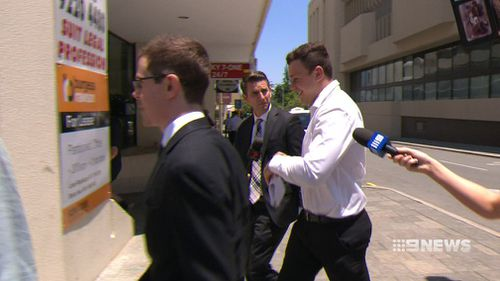Dylan Thomas has been handed a suspended sentence for coward punching two men. (9NEWS)
