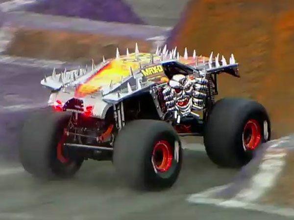 Mechanic not fussed by monster truck flip