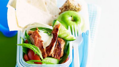 "Recipe:&nbsp;<a href=""http://kitchen.nine.com.au/2016/05/16/16/07/tandoori-chicken-salad"" target=""_top"">Tandoori chicken salad<br /> </a>"