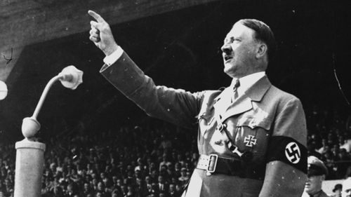 Adolf Hitler in 1937. Herman Goerring was a senior member of the Third Reich before falling out with the Fuhrer late in the war. (AAP)