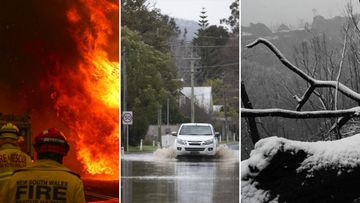 Fire, snow and floods: The weather extremes of 2020