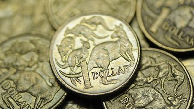 Aussie dollar holds onto gains after unemployment figures released