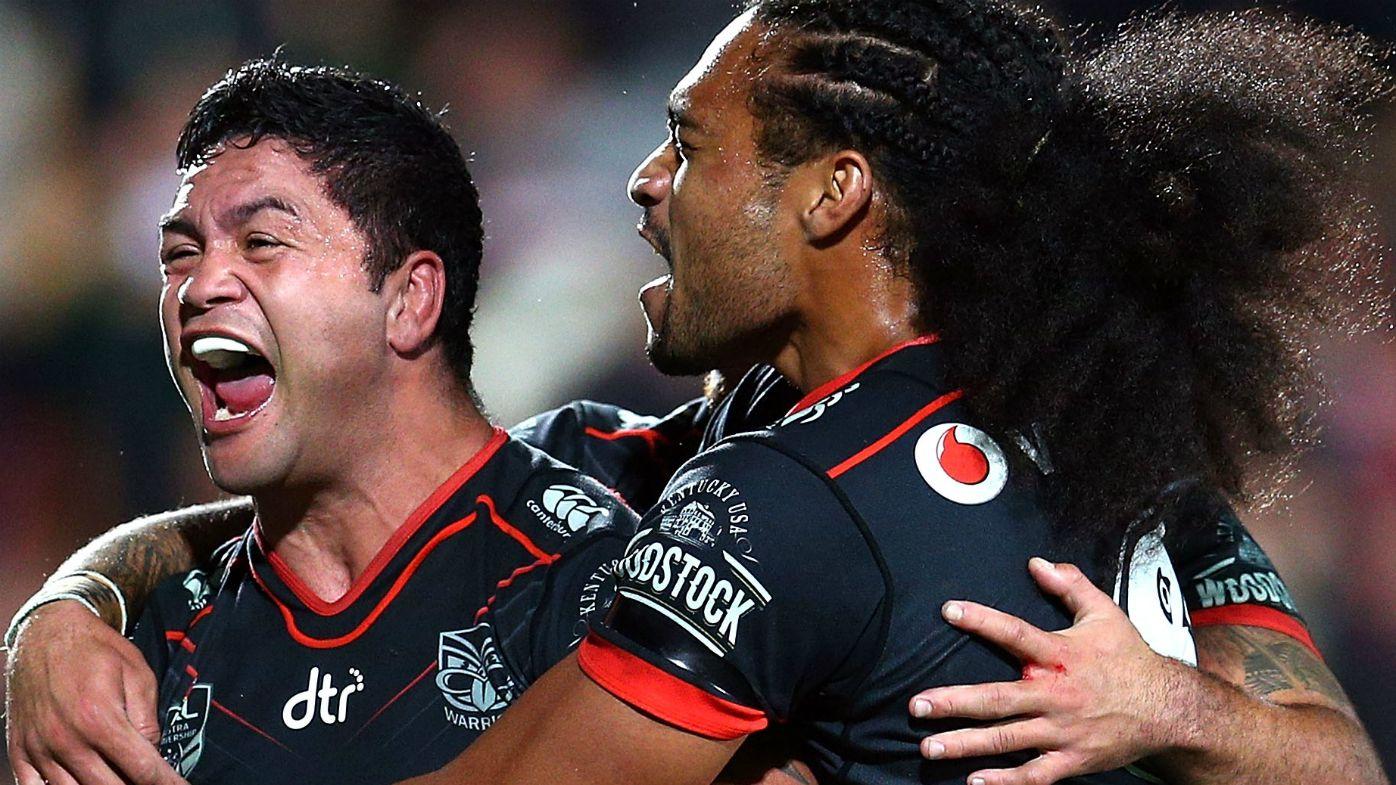 Warriors end Dragons' winning NRL run