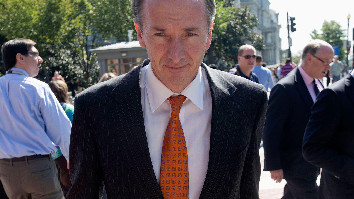"Stanley Morgan CEO James Gorman has defended Australian banks, arguing they are ""well run"" (AP Photo/Pablo Martinez Monsivais)."
