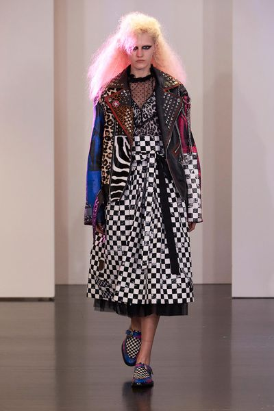 For Resort 2017, Marc Jacobs isn't taking you to an exotic location, instead you'll be time-travelling back to the '80s. With teased, crimped hair, glossy lips and high-octane eye-shadow, models hit the runway decked out in the decade's signatures – zebra stripes, exaggerated puff sleeves and MTV motifs. This is one collection set to make its way to your Instagram feed.