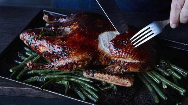 Mark Best's roast duck teriyaki
