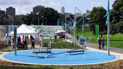 NSW, Sydney: Prince Alfred Park, Surry Hills