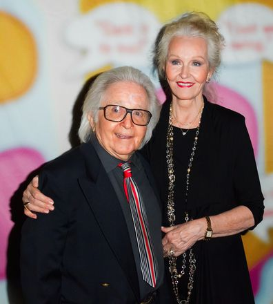 Arte Johnson and wife Gisela attend Still Laugh-In: A Toast to George Schlatter in 2013