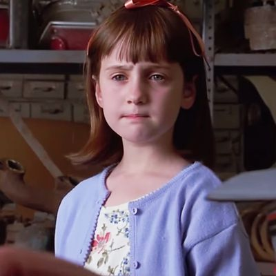 Mara Wilson as Matilda: Then