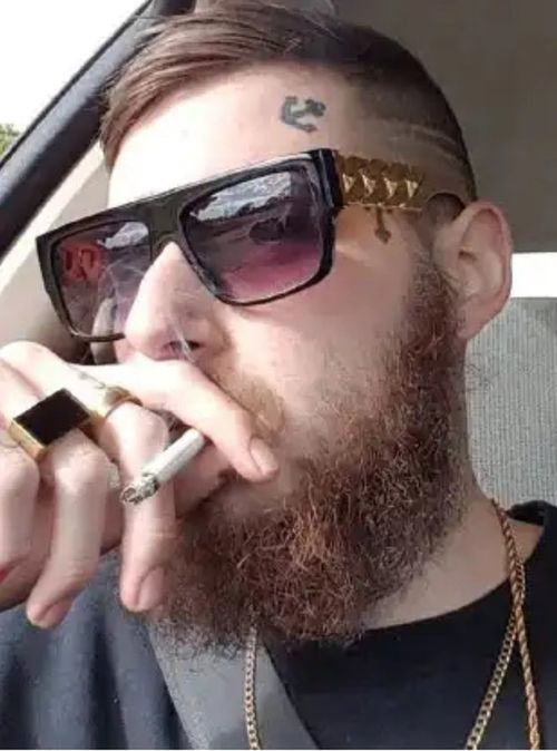 Benjamin Joshua George (pictured) pleaded guilty to fatally stabbing 34-year-old Troy James McLean at Salisbury, in Adelaide's north, in November 2017.